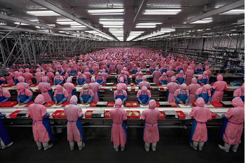 "Image from ""Manufacturing"" series - Edward Burtynsky"