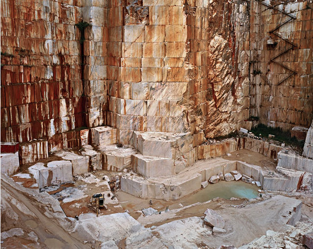 "Image from series ""Quarries"" - Edward Burtynsky"